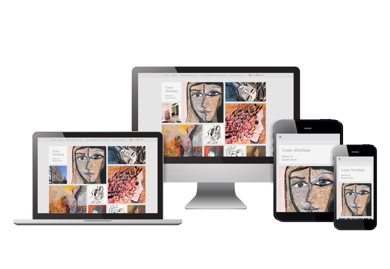 Azam Abrisham – Malerei & Digital Painting